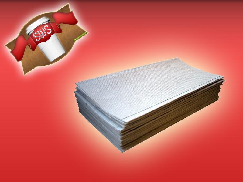 (17200) 5000 Papierhandtücher Falthandtücher natur 25 x 23 cm Zick-Zack