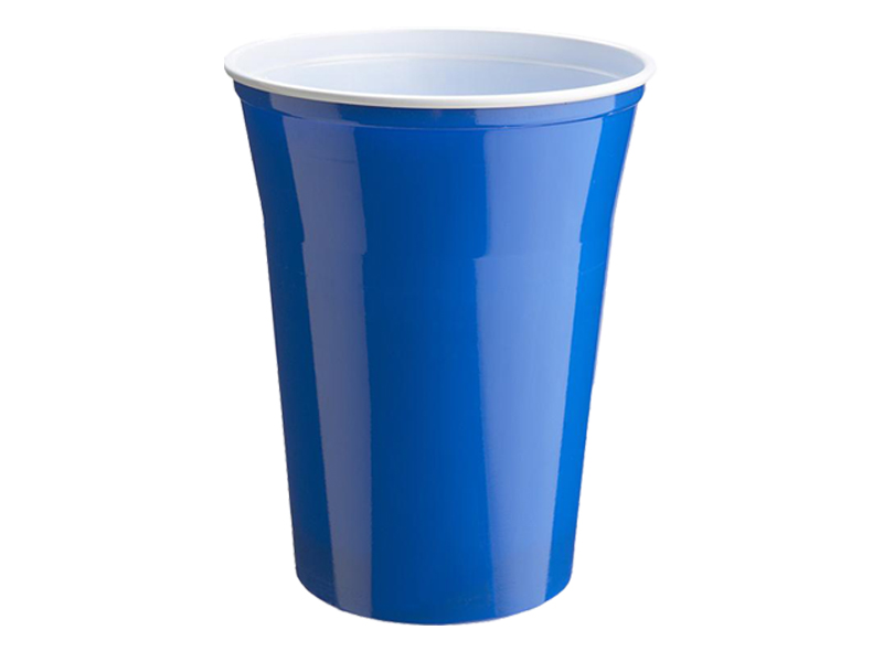 2155 25 beerpong bierbecher partybecher blue cups beer becher 400 ml ebay. Black Bedroom Furniture Sets. Home Design Ideas
