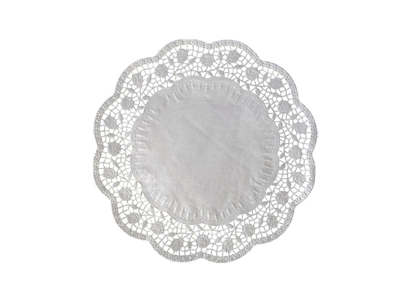 100 Tortenspitzen Kuchenspitzen Tortenunterlagen weiß 34 cm 72334