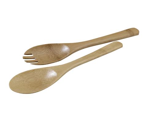 Bambus Salatbesteck